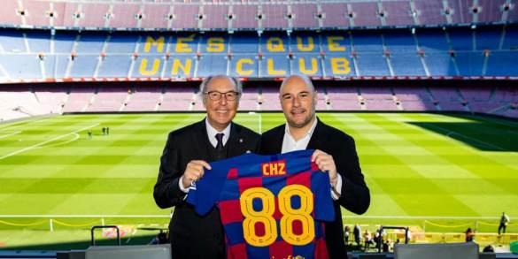 Barcelona lança token