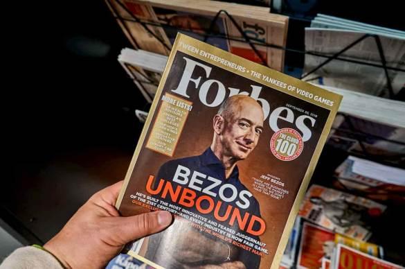 Jeff Bezos em Revista Forbes