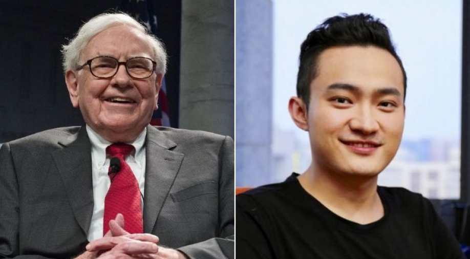 Warren Buffett doou as criptomoedas recebidas por Justin Sun