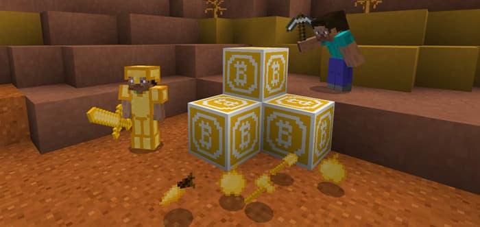 Servidor de Minecraft dá recompensa em Bitcoin