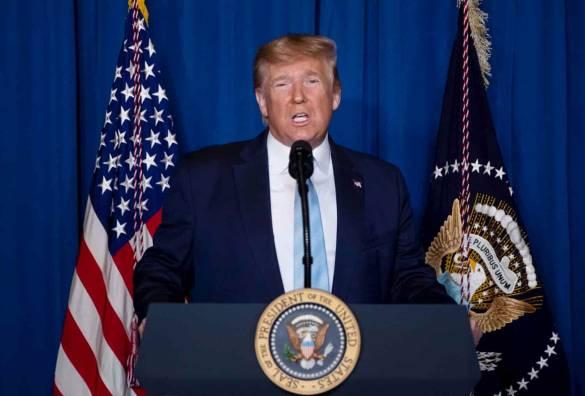 Donald Trump contra coronavírus
