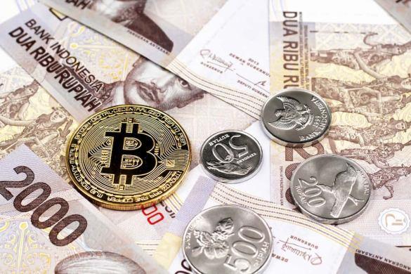 moeda estatal desvaloriza indonésia Bitcoin
