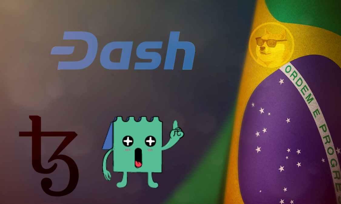 As criptomoedas que mais investem no Brasil