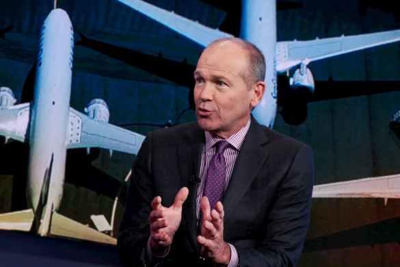 Dave Calhoun CEO da Boeing