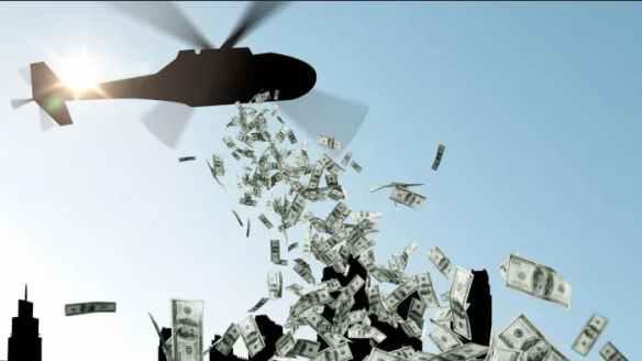 Dinheiro de helicóptero