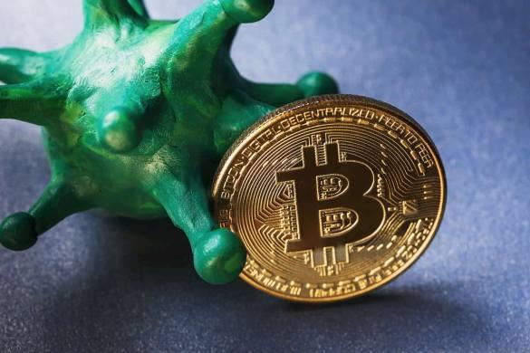 coronavírus comércio de Bitcoin