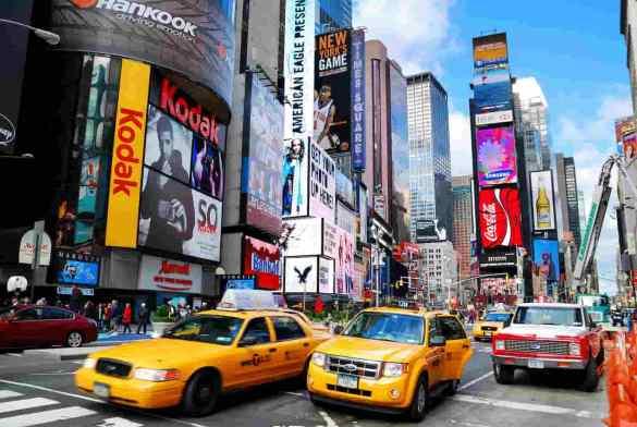 Taxis em nova york