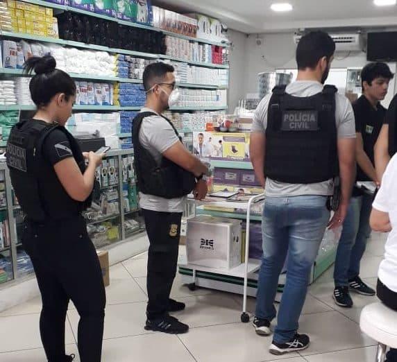 Cade livre mercado policia civil na farmácia