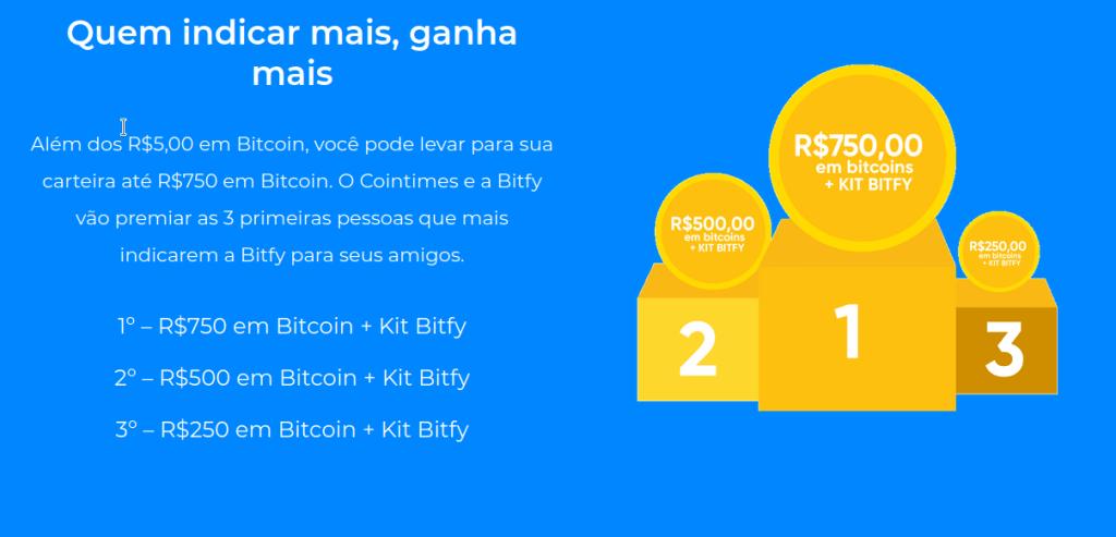 Bitfy promoção