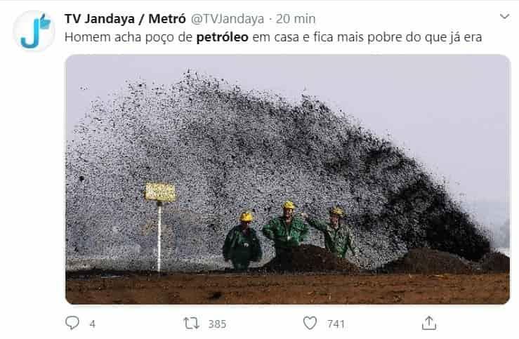 memes preço do petróleo