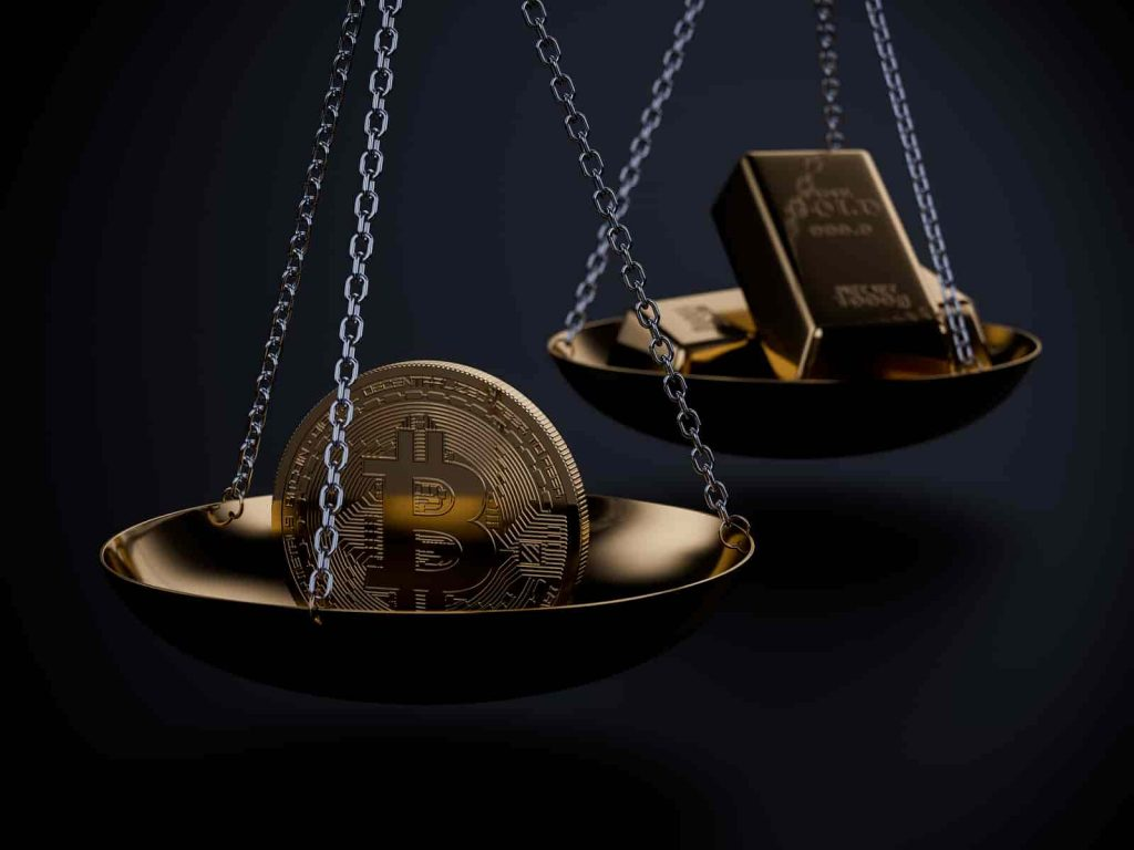Ouro vale mais que bitcoin