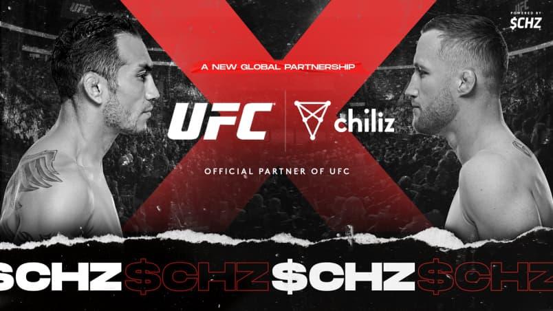 UFC faz parceria com criptomoeda Chiliz