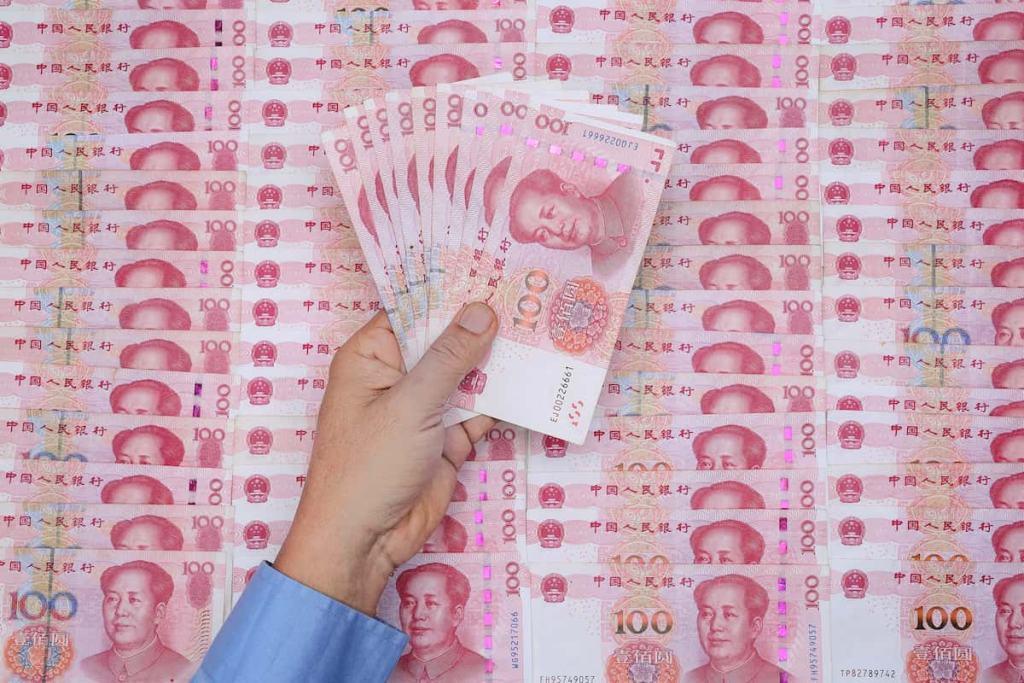 Yuan, Dinheiro da China