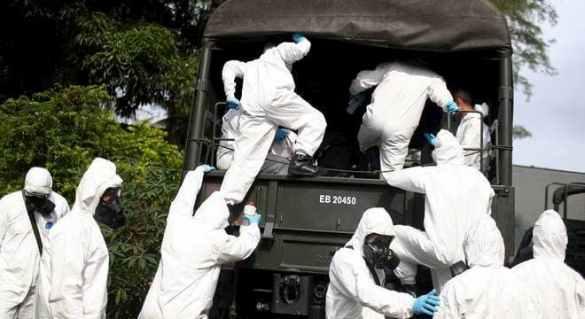 Brasil epicentro do vírus