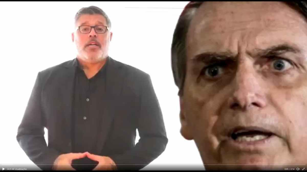 """Alexandre Frota confronta """"quadrilha digital das Fake News"""" em seu Twitter"""