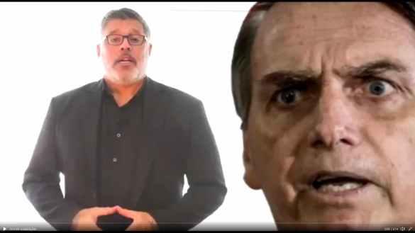 Alexandre Frota critica Bolsonaro