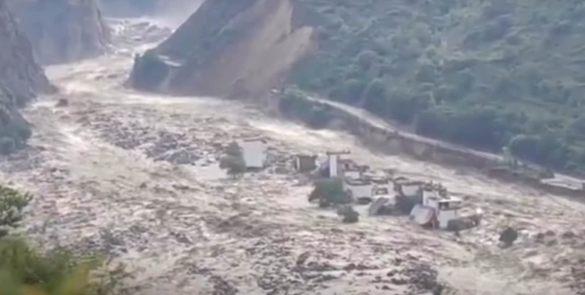 deslizamentos de terra China mineração de bitcoin