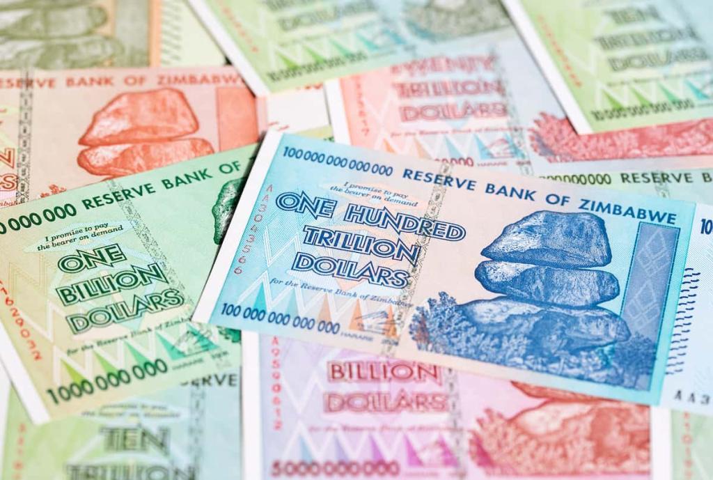 Zimbábue notas