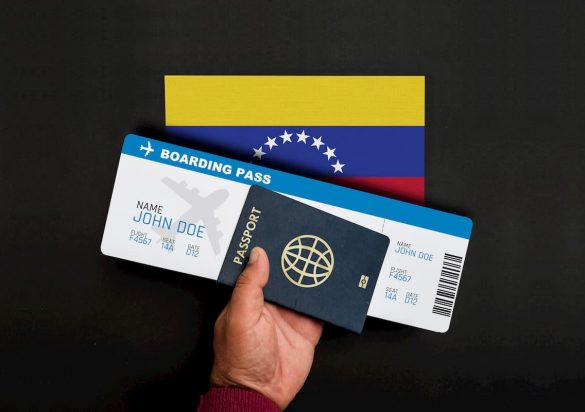 Passaportes Venezuela