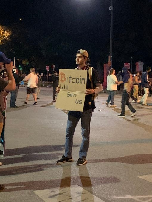 bitcoin will save us