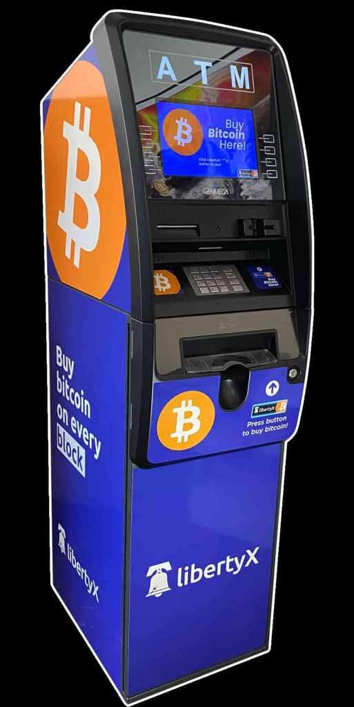 Caixa Eletrônico de Bitcoin da LibertyX