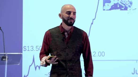 Tone Vays, trader e analista