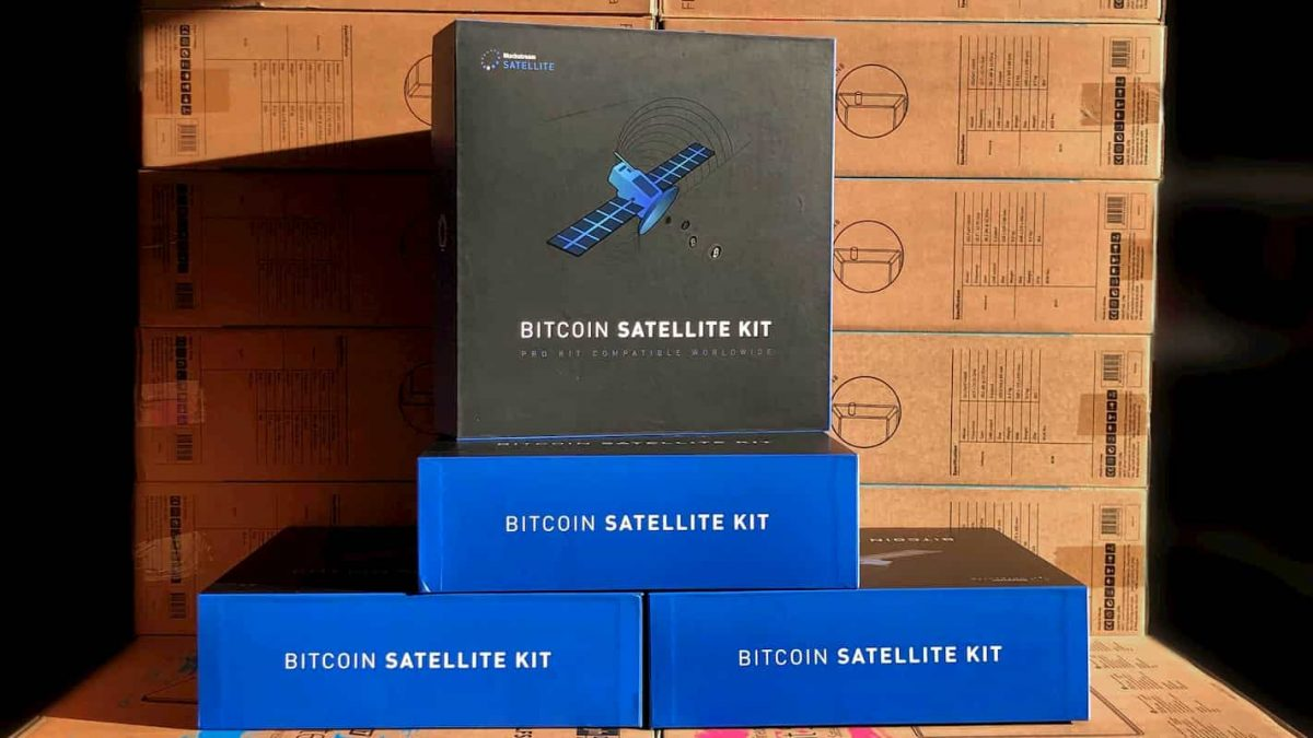 Kit da Blockstream permite receber bitcoin sem internet por satélites