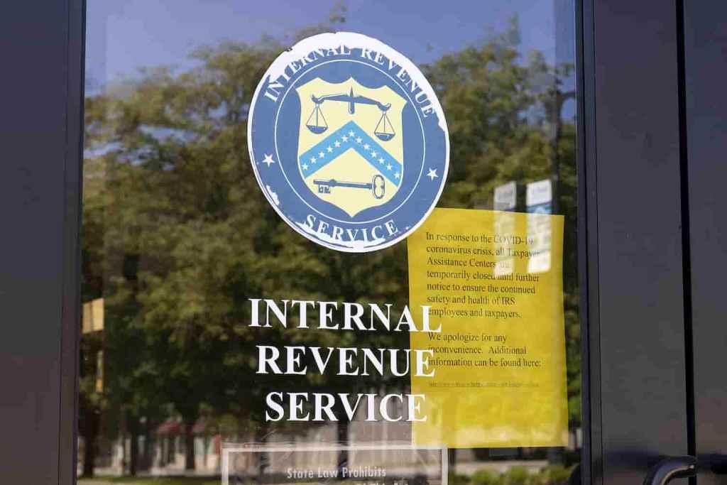 IRS receita dos EUA