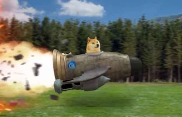 Dogecoin dispara