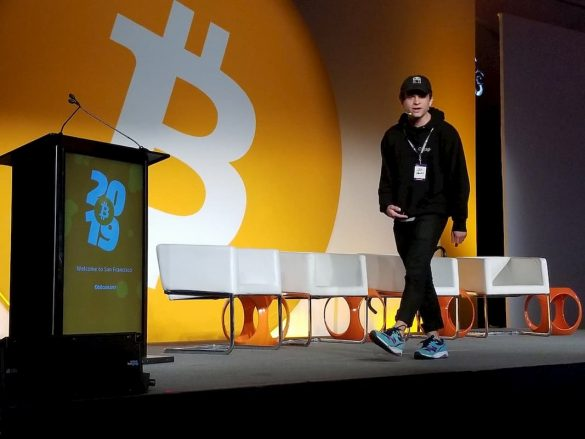 Jack Mallers da Zap palestrando sobre Bitcoin