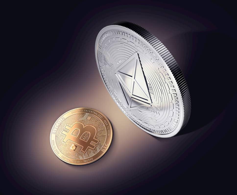 Ethereum e Bitcoin dominância