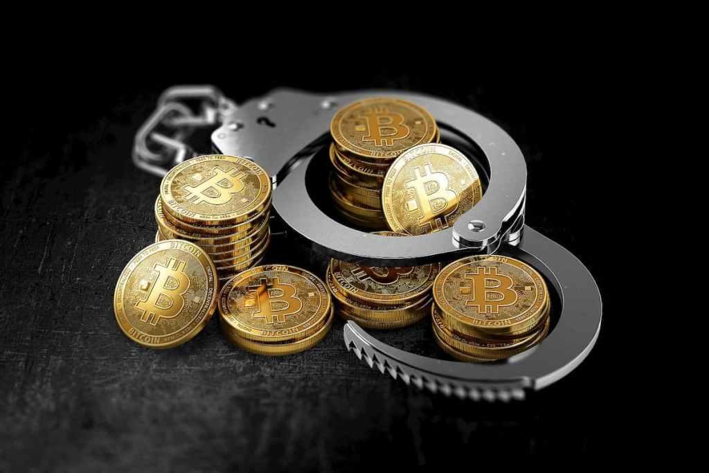 Bitcoins em algemas