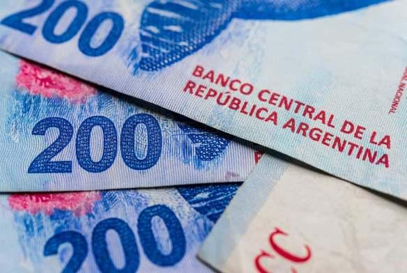 Cédula de 200 pesos argentinos