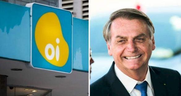 Ações da Oi e Bolsonaro
