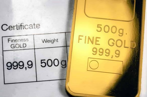 barra de ouro com certificado
