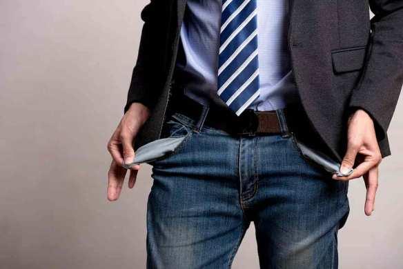 empreendedor sem dinheiro