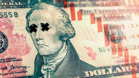 Dólar em declínio