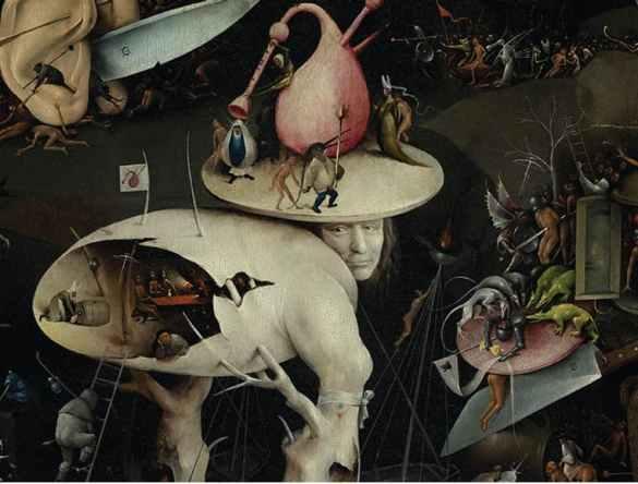 O Jardim das Deliciais Terrenas - Hieronymus Bosch (1450-1516)