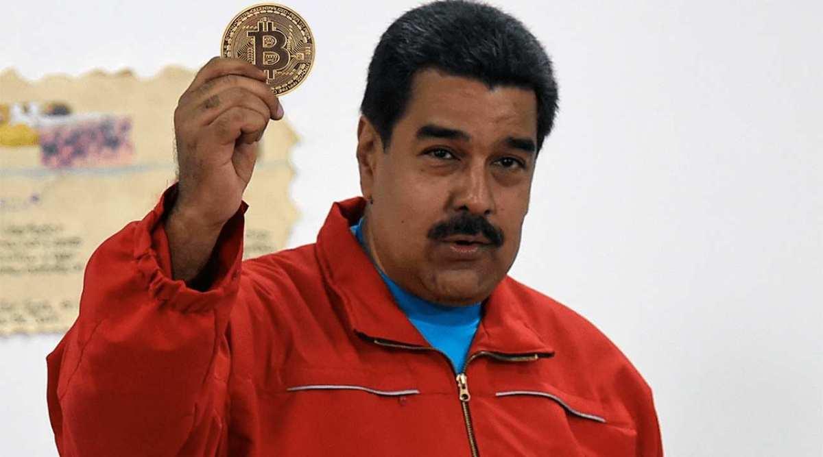 Maduro está usando bitcoin em importações para evitar sanções dos EUA
