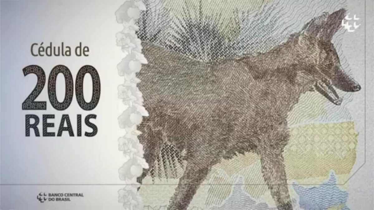Banco Central lança cédula de R$200 – veja os detalhes