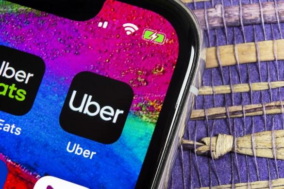Tela Aplicativo Uber Desnetralizado