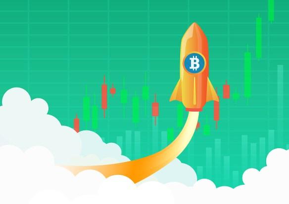 O Bitcoin valorizou cerca de 8% nas últimas 24%, saindo de US$ 12.920 e subindo até os US$ 12.850 no momento de escrita deste artigo.