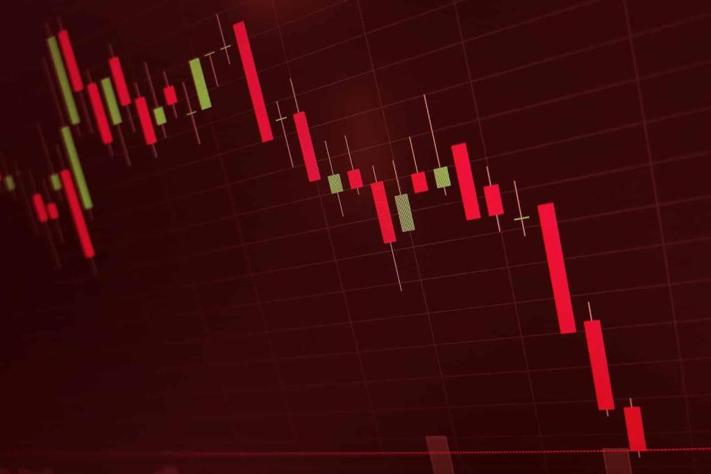 queda preço do bitcoin