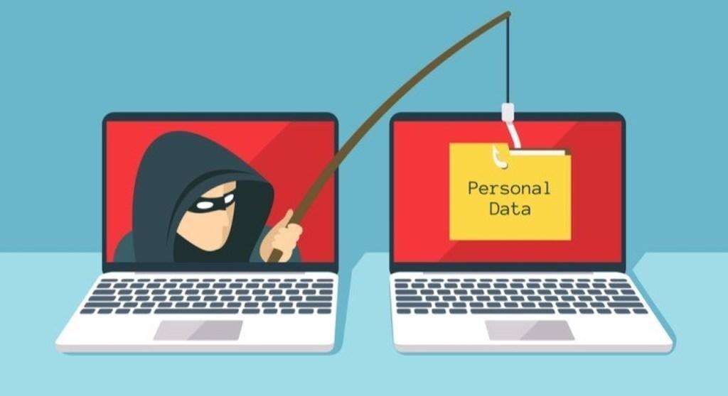 Phishing Scam ataque