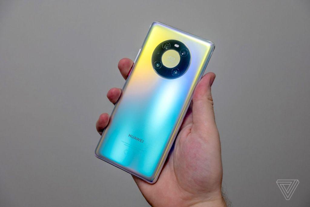 Novo celular da Huawei Mate 40. Fonte: Theverge
