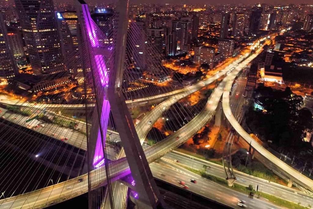 São Paulo ponte principal