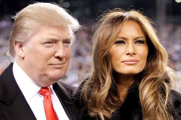 Donald Trump e Melania covid-19