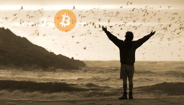 Mochileiro viajar Brasil Bitcoin