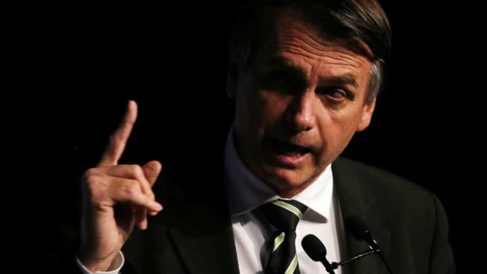 Bolsonaro ameça os EUA