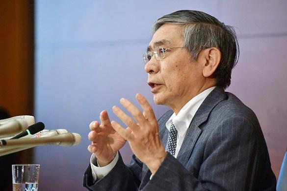 Presidente Banco Central do Japão